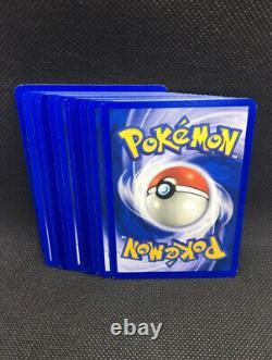 Ensemble Complet Pokémon Team Rocket 48 Cartes Nm-mint Wotc Vintage Original