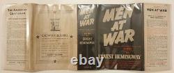 Ernest Hemingway, Hommes En Guerre, 1er/1er, Signé Et Inscrit