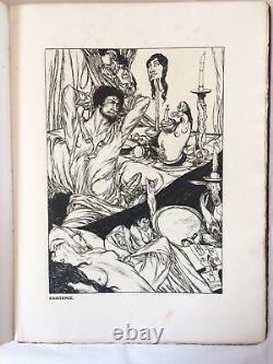 Espare, Austin Osman, A Book Of Satyrs, Première Édition, 1907, Signée Et Numérotée