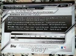 Fernando Tatis Jr 2016 Bowman 1er Rookie Card Rc Padres Hr Puissance Et Vitesse $ Hot $