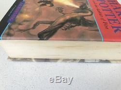 Harry Potter Complete Uk Bloomsbury First Edition Ensemble Complet De 7 Livres Reliés