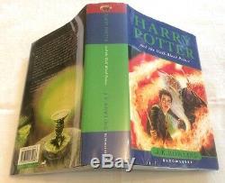 Harry Potter Et Misprint De Sang-mêlé Prince Rare Owl Sur La Page 99