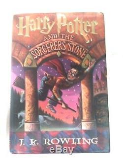 Harry Potter Et Rowling K. J. Stone 1er Ed 1er Impression Américaine Du Sorcier