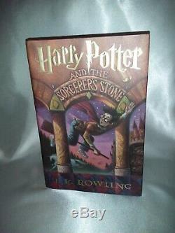 Harry Potter Première Édition Première Impression F-vf Du Sorcier