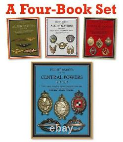 Histoire De L'aviation De La Première Guerre Mondiale Et Insignes De Vol (1914 -1918), 4 Livres Série Complète