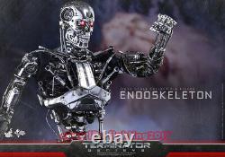 Hottoys Mms352 Terminateur Genisys 1/6 Échelle Endoskeleton Collection Figure Ht