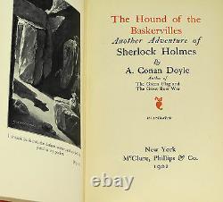 Hound Of The Baskervilles Arthur Conan Doyle Première Édition Américaine 1902 1ère