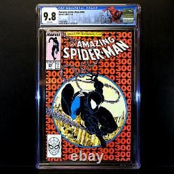Incroyable Spider-man #300 Origine Et 1ère Apparence Complète Venom Cgc 9.8 Blanc