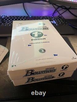 Inhand Topps 2021 Bowman Mlb Baseball 1ère Édition Sealed Box-24 Packs