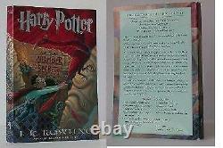 J K Rowling / Harry Potter Et La Chambre Des Secrets Non Corrigé Proof #004981