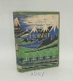 J. R. R. Tolkien, Le Hobbit, 1937, 1ère Édition, 2ème Avec Fine Original Jacket