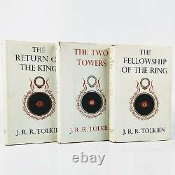 J. R. R. Tolkien Le Seigneur Des Anneaux Ensemble Complet Des Premières Éditions