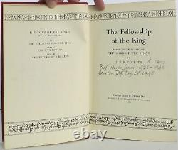 J R R Tolkien / Lord Of The Rings-trilogy (fellowship Arc, Autres Premières)