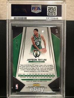Jayson Tatum 2017-18 Rookie Blue Prizm /199 Psa 10 Rare Boston Celtics