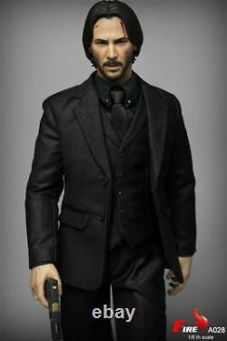Jouets De Feu 1/6 A028 Keanu Reeves 12pouces Collectionnables Modèle De Figurine Jouets Cadeau