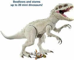 Jurassic World Super Colossal Indominus Rex 18, Jouet Cadeau, Noël Nouveau