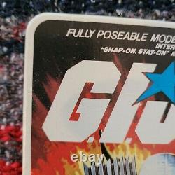K2100266 Ombre De Tempête Moc Menthe Sur Carte Scellée 1983 Gi Joe Cobra Vintage