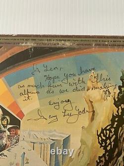 Kak Kak Original Epic Stereo Psych Lp 1969 Autographié Par Gary Yoder