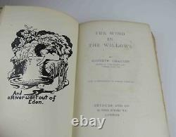 Kenneth Grahame The Wind In The Willows First Uk Edition 1908 1er Livre