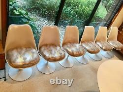 Knoll, Tulip Dining Table, Eero Saarinen (1ère Édition Cast-iron, Restored)