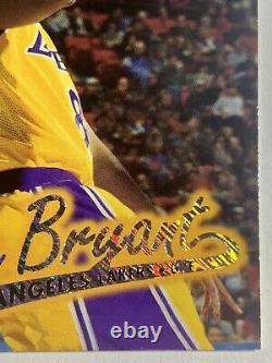 Kobe Bryant 1996-97 Médaillon Ultra Platinum P-52 Rookie Rc Ssp Rare /200
