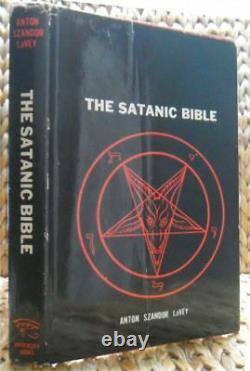 La Bible Satanique Par Anton Lavey 1969 Première Édition Hb