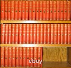 Le Harvard Classics! (première Édition!) Complete Set En 52 Volumes! Orange! Rare