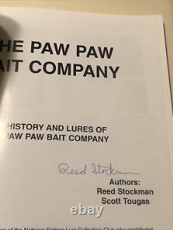 Le Livre De L'entreprise Paw Paw Bait 1ère Édition Autographée