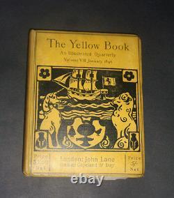 Le Livre Jaune Illustrées Quarterly Volume 8 Janvier 1896 / Littérature Art