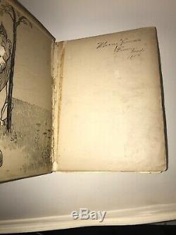 Le Merveilleux Magicien D'oz! Baum (première Édition 1899!) 1900 (porté / Mauvais État)