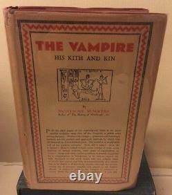 Le Vampire Son Kith Et Kin, Summers De Montague, Vampires, Occult, Rares, Livres