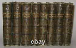 Leather Setworks Of Lord Byron! (édition Complémentaire! 1825)shelley Poetry Keats Rare