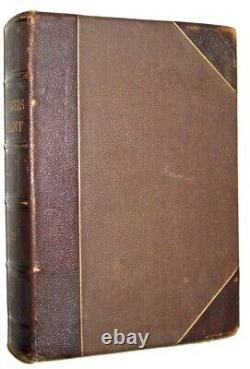 Leathermemoirs De Subvention! Ulysse (première Édition 1879!) Guerre Civile Personnelle Voyage