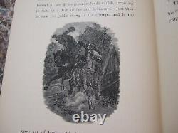 Legend Of Sleepy Hollow, C. 1880, Carnet De Croquis, Washington Irving, Specter Bridegr