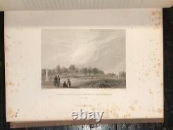 Les Cimetières Ruraux D'amérique Bois Vert Illustré 1er Ed, 1847 Cimetière