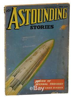 Les Montagnes Hallucinées P. H. Lovecraft Première Édition 1936 Histoires Astounding