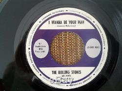 Les Rolling Stones Stoned 45 Stock Rare Copie Mint Withoriginal Manches