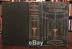Manuel De Occultisme Sépharial 1er, 1911 Divination Alchimie Magick Astrologie