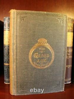 Mark Twain Première Édition Set Collection Signé 1867-1949 Huckleberry Finn Rare