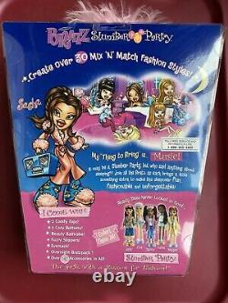 Mga Bratz Slumber Party Sasha 1ère Édition Original Nib Nrfb Fashion Doll Sealed