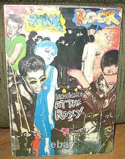 Michael Dempsey Punk Rock 100 Nights At The Roxy Punk Livre Original 1978 1st Pb