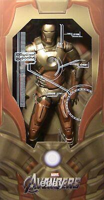 Neca Iron Man Midas Gold Armor Mark XXI 1/4 Échelle 18 Marvel Action Figure Nouveau