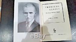 Nikola Tesla Rarissime 1944 Première Édition First Print Genius Prodigal