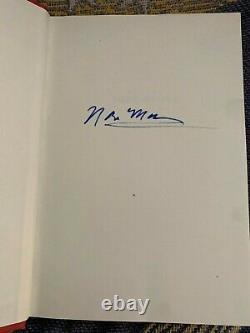 Norm Macdonald Autographié Basé Sur A True Story 2016 Autobiographie Rip Norm