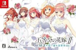 Nouvelle Nintendo Switch The Quintessential Quintuplets First Limited Edition Japon