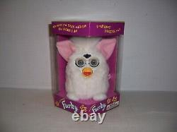 Original 1998 First Edition Electronic Furby Model 70-800 White New In Box