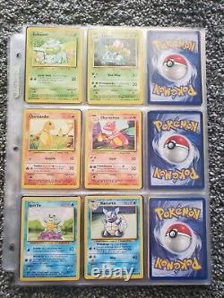 Original Near Complete Pokemon 151/151 Set Mssing 3 Base, Jungle Fossil 1er Ed