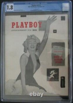 Original Playboy #1 Décembre 1953 Cgc 1.8