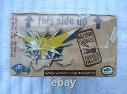 Original Sealed Pokemon 1st Edition Wotc Fossil Booster Box Cards 1999