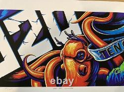 Pearl Jam Pj20 Billboard Poster Munk One / Maxx242 1er Ed. Mint / Mint 200/200